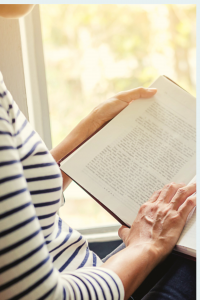 mother reading rediscovering you